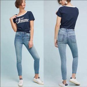 Pilcro & Letterpress Ultra High Rise Skinny Jeans